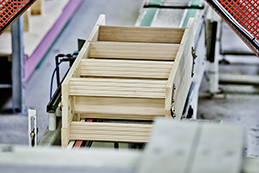 Dolle production of loft ladders