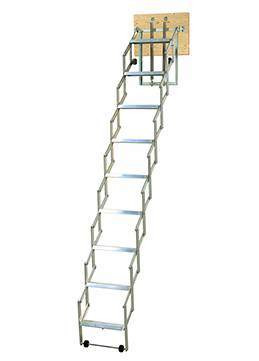 loft ladder alu fix for narrow spaces
