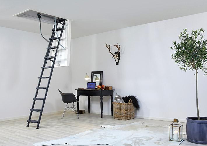 loft ladder clickfix comfort