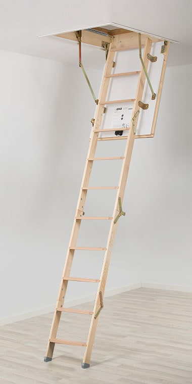 loft ladder model mini for the smallest room