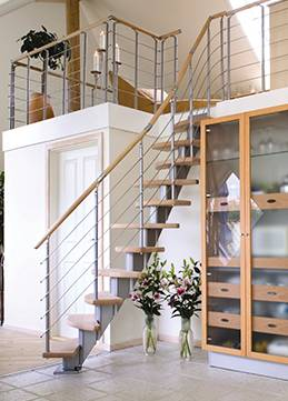 space saving staircase copenhagen for indoor use