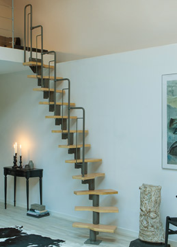 modular staircase graz for indoor use