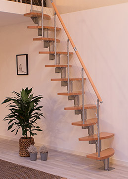 space saving staircase rome straight flight