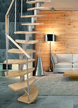 space saving staircase rome for indoor use