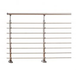 Handrail banister PROVA 8 aluminium kit 1.0 m high