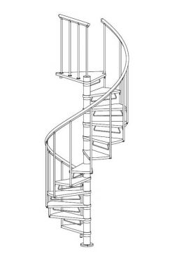 Riser bars for staircase Calgary and Montréal grey