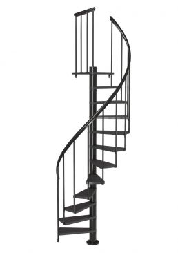 Spiral Staircase DOLLE Calgary Anthracite