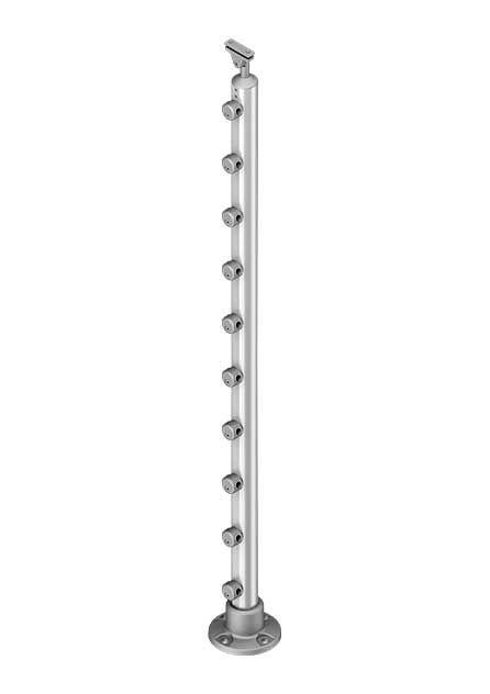 Banister post PROVA 10 aluminium