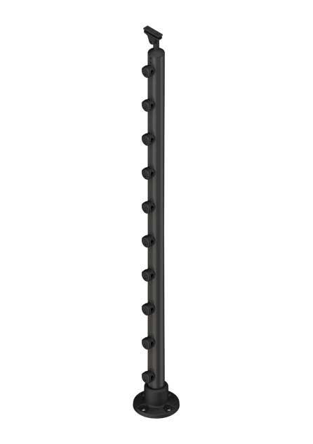 Banister post PROVA 10 anthracite