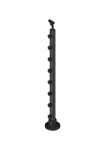 Banister post PROVA 8 anthracite