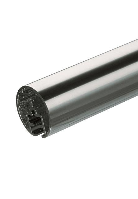Aluminium handrail 2 meter PS 4