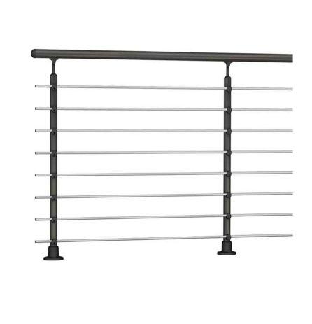 Handrail banister PROVA 8 anthracite kit 1.0 m high