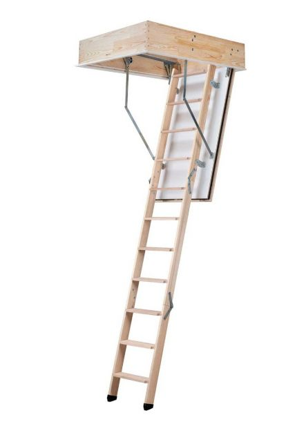 Fire resistant loft ladder REI 45