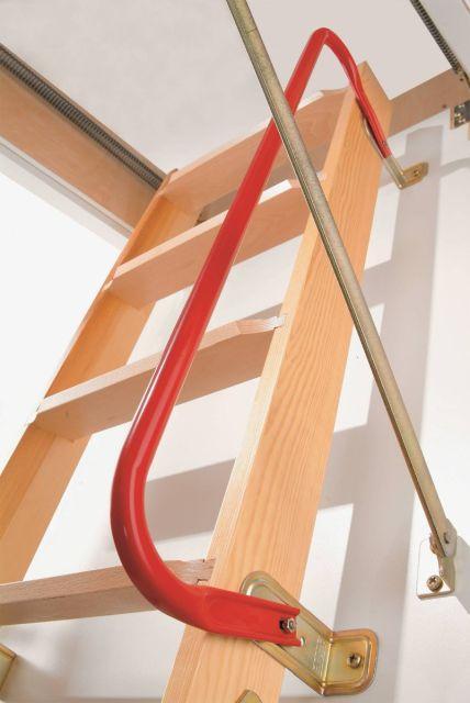 Loft ladder handrail for clickFIX® 3-section ladder