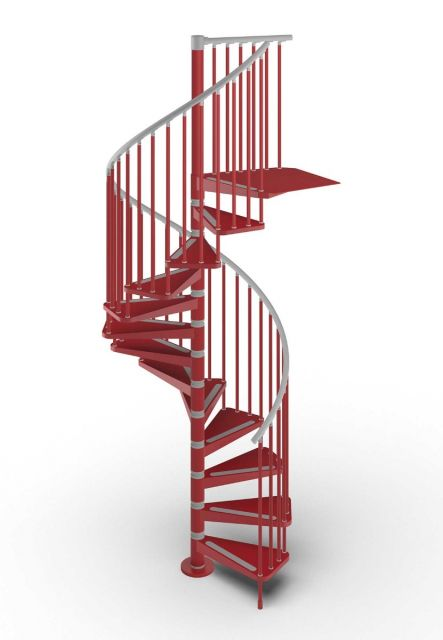 Spiral staircase GAMIA Metal