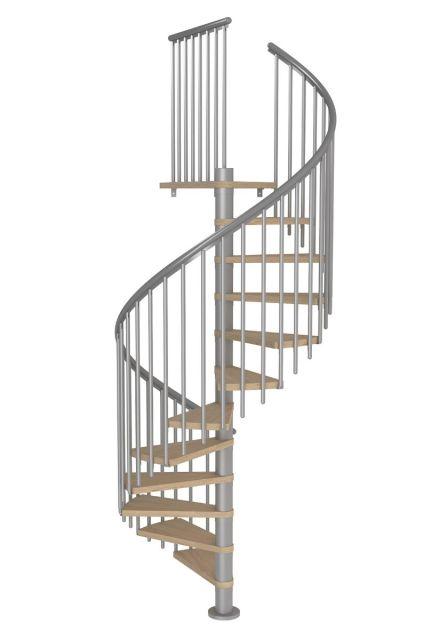 Spiral staircase MONTRÉAL CLASSIC 4