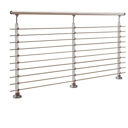 Handrail banister PROVA 10 Alu starter kit