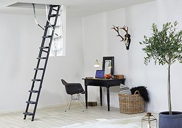 loft ladders in aluminum